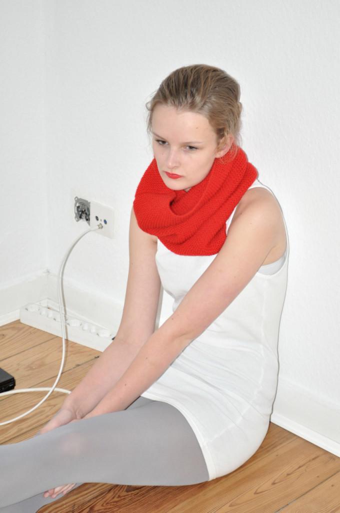 Schal rouge